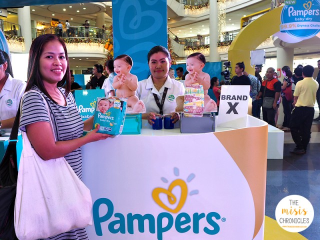 pampers baby dry 99.9% skin dryness challenge