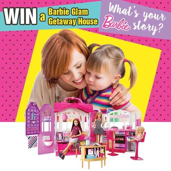 my barbie story contest
