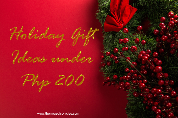 gifts under 200 pesos