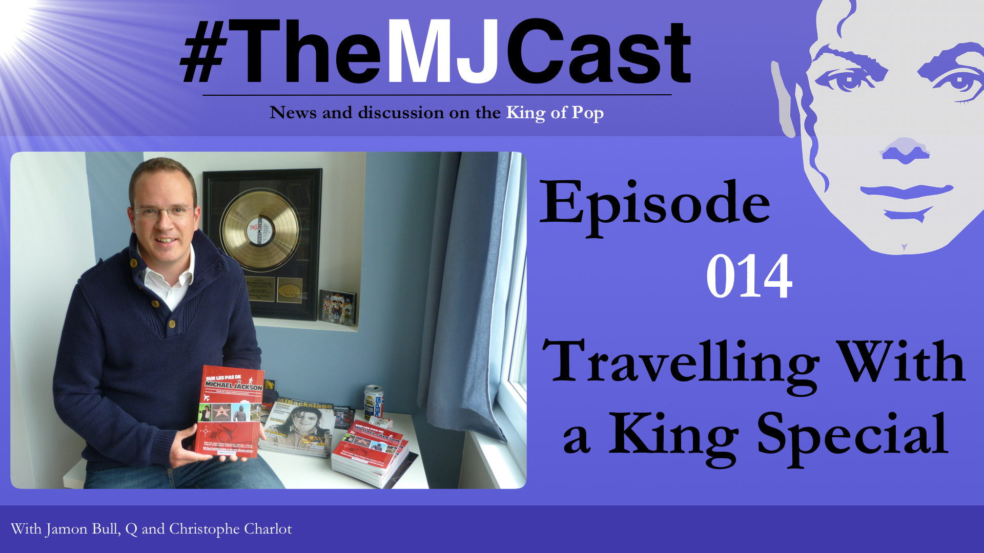 Books the mjcast epiosde 014 travelling with a king special youtube art fandeluxe Image collections