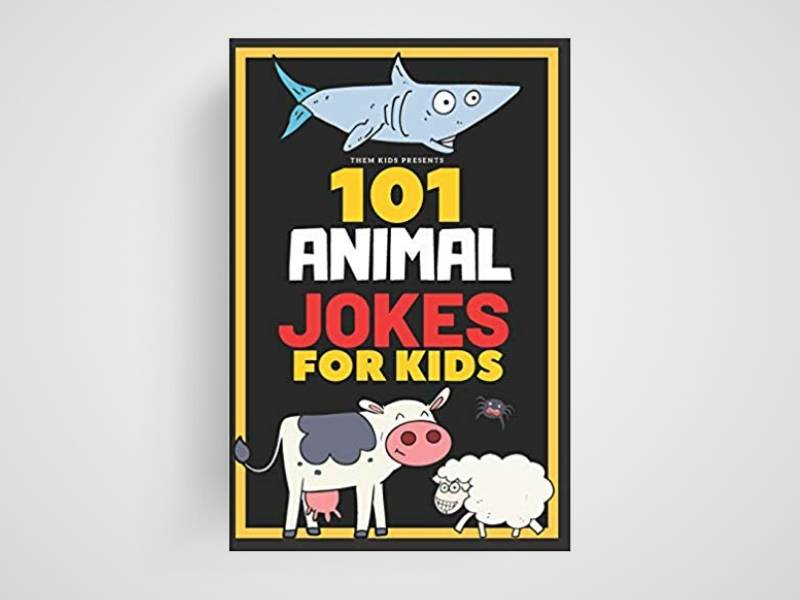101 animal jokes for kids book