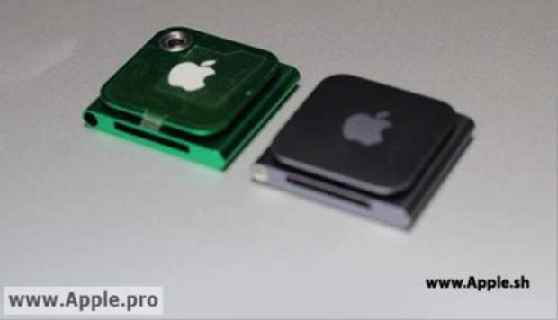 Apple planning a new iPod Nano with camera?