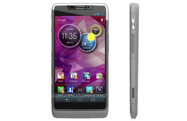 Motorola's upcoming Android 4.0 phone images leaked