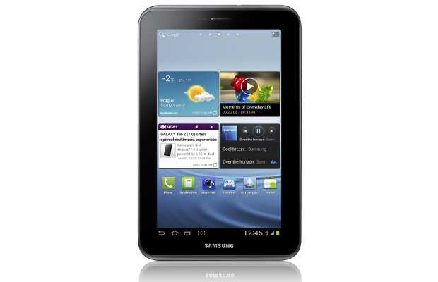 Samsung Galaxy Tab 2 coming to India next month