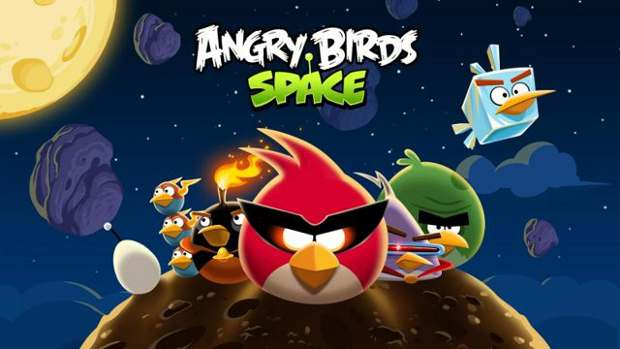 Angry Birds Space gets 10 new levels