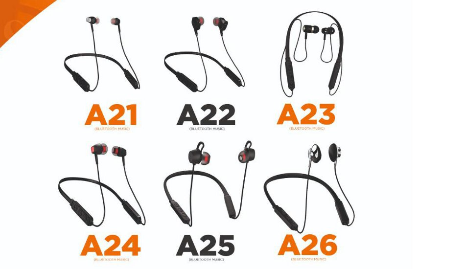 """Arrow launches new """"A"""" Wireless In-Ear Neckband Headset Series"""
