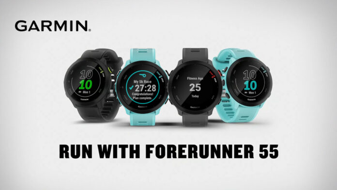 Garmin Forerunner 55 GPS smartwatch launched in India for Rs 20,990