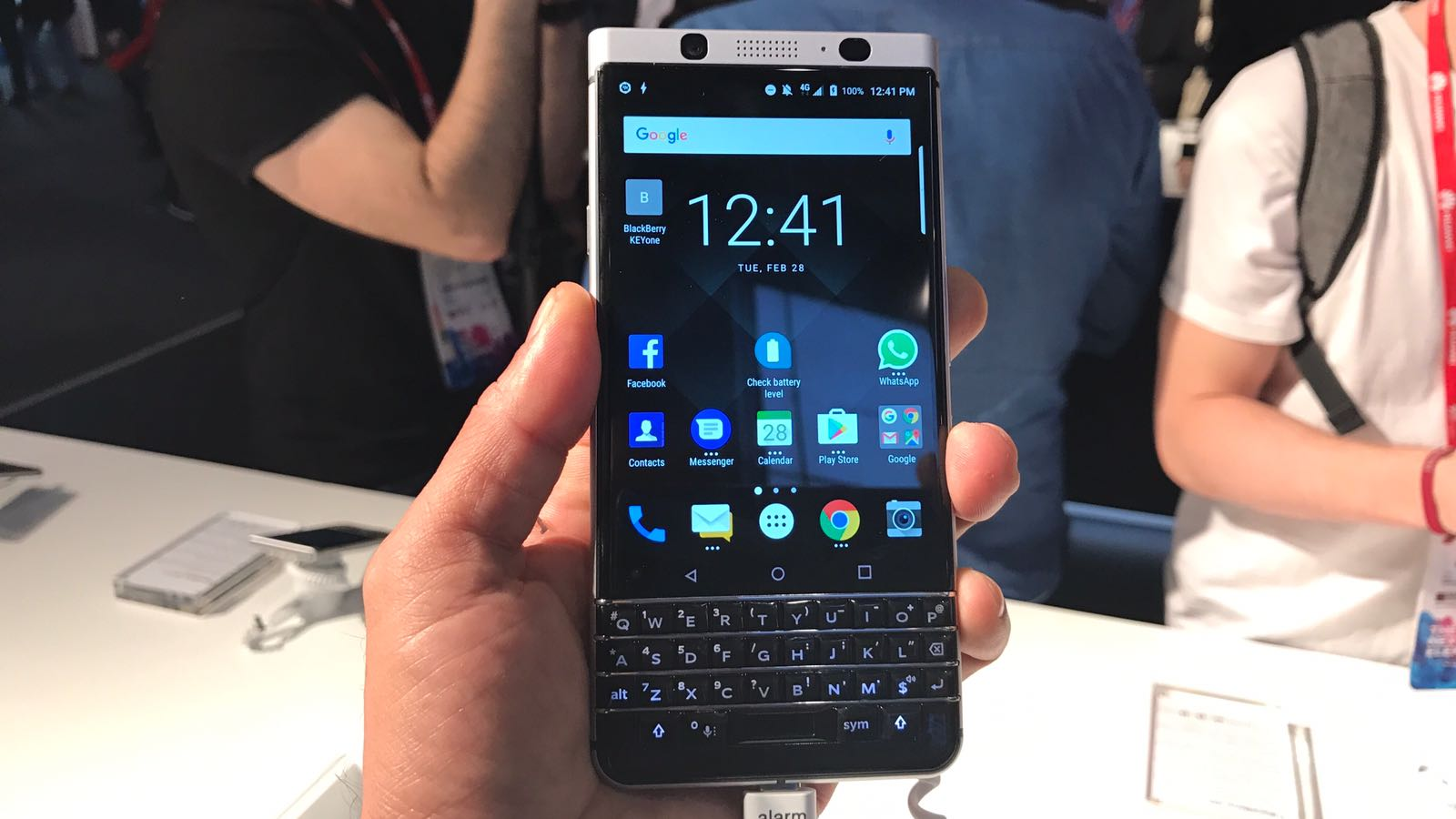 BlackBerry KEYone in Pictures
