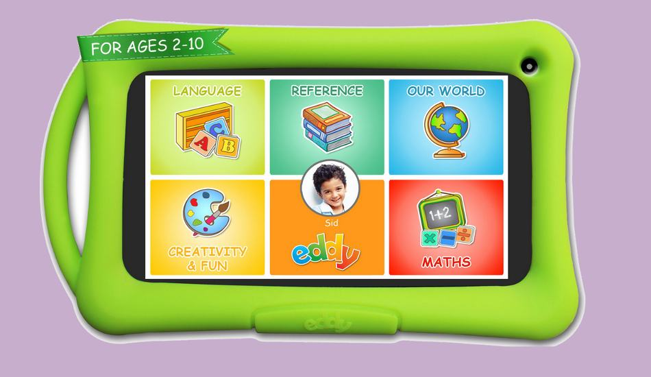 Meet Eddy: An Android based tablet for kids