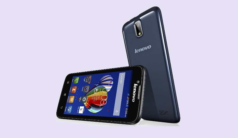 Lenovo A328 launched @ Rs 7,299