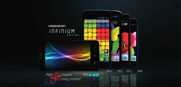 Videocon launches 8 handsets under new Infinium series