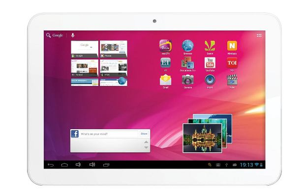 Videocon launches 10 inch Android tablet for Rs 11,200