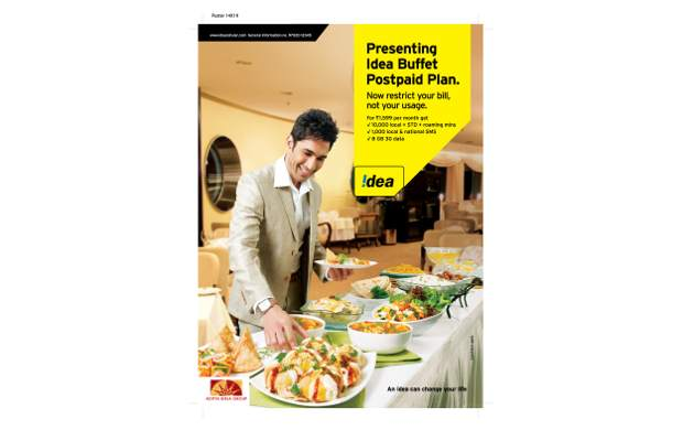 Idea Cellular launches buffet plans for postpaid users