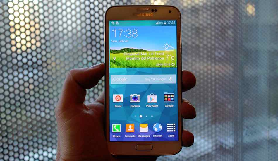Samsung to launch Galaxy S5 in India on March 27