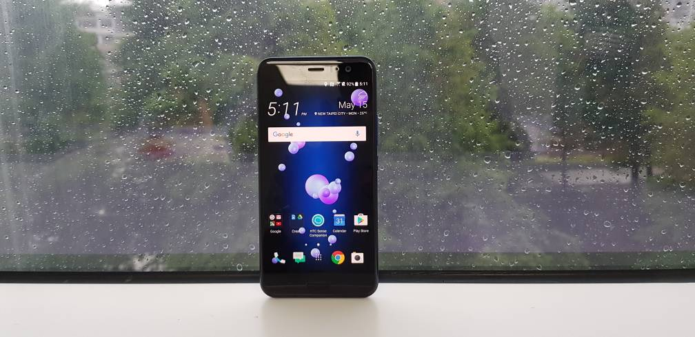 HTC U11 first impression: Squeze it to get the juice