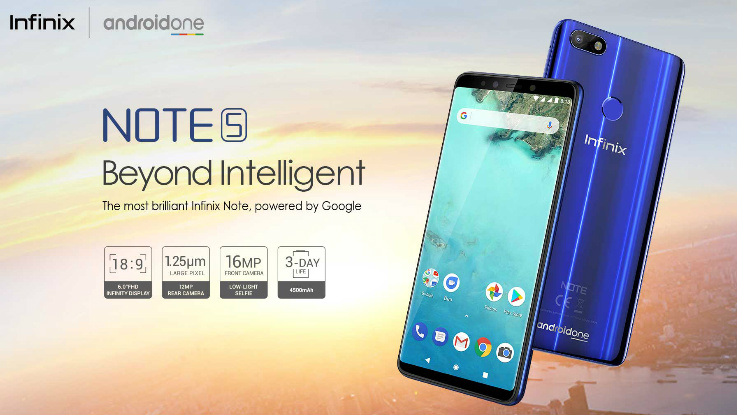 Infinix Note 5 Android One smartphone gets a price cut of Rs 3000