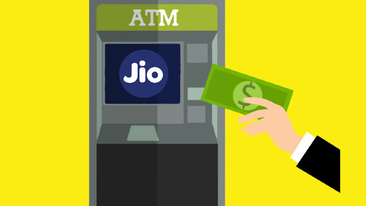 How to recharge Reliance Jio number using an ATM?