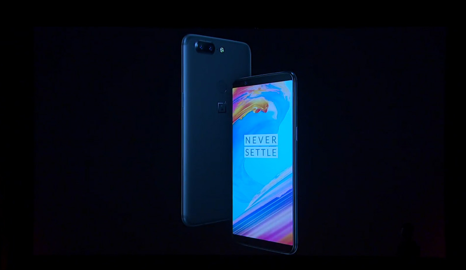 OnePlus 5T launched with 6.01-inch Full Optic AMOLED display, face unlock and more, price starts at Rs 32,999