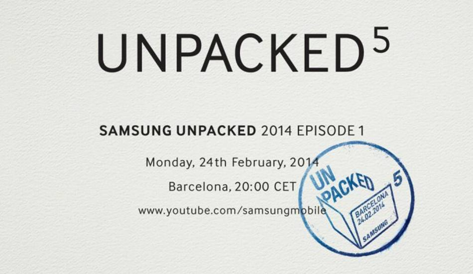 Samsung Unpacked 5 event set for Feb 24; may unveil Galaxy S5