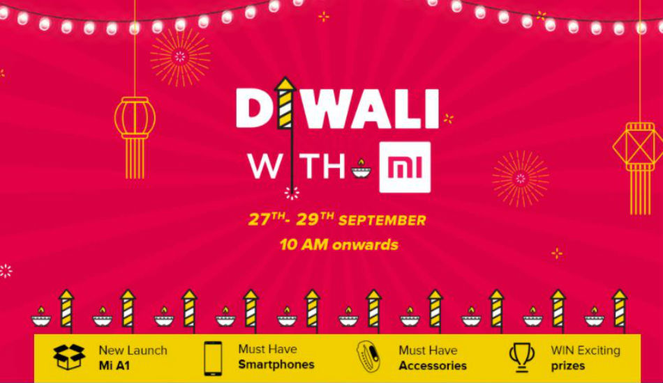 Xiaomi 'Diwali with Mi' sale: Re 1 Flash sale, discounts on smartphones and more