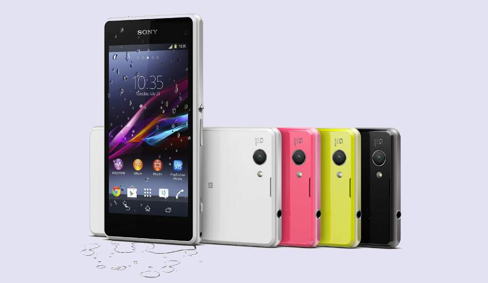 Sony Xperia Z1 Compact launched in India for Rs 36,990