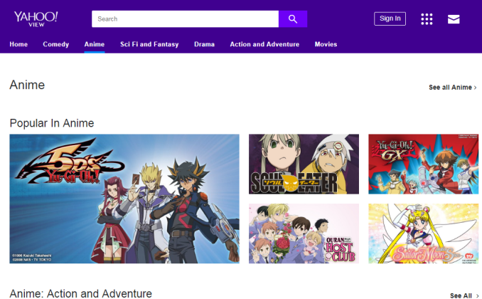 If You Dont Have Any Site To Look For Perfect Anime Then Should Go Yahoo It Will Surely Meet All Your Requirements