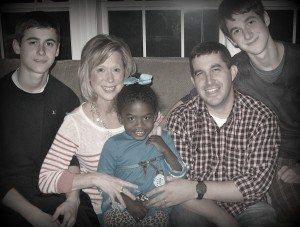 Renee Swope and Family