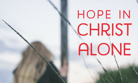 Hope in Christ Alone