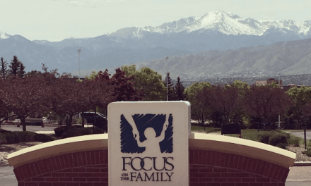 When you get to be on Focus on the Family…
