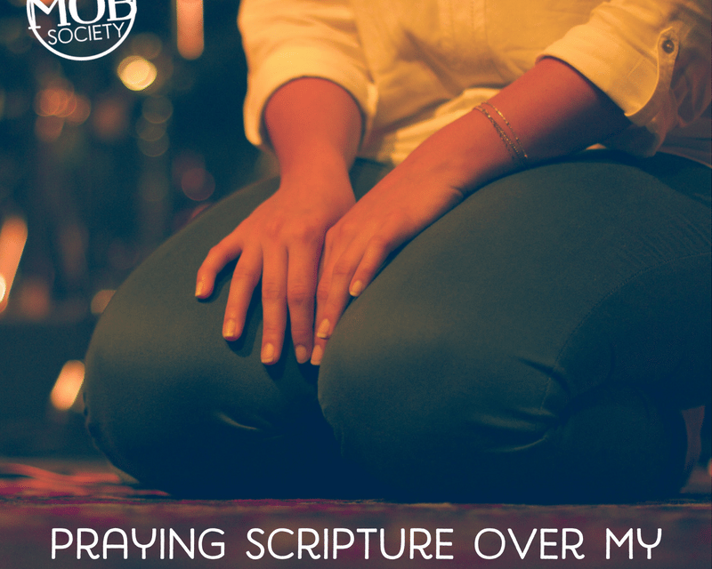Praying Scripture over My Son with Special Needs