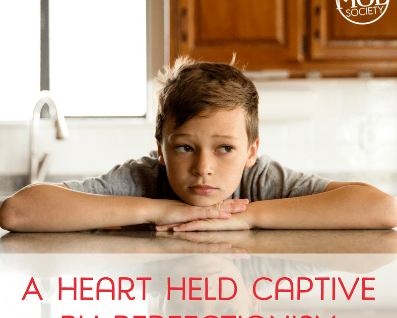 A Heart Held Captive by Perfectionism