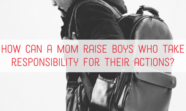 One essential ingredient to raising men of integrity