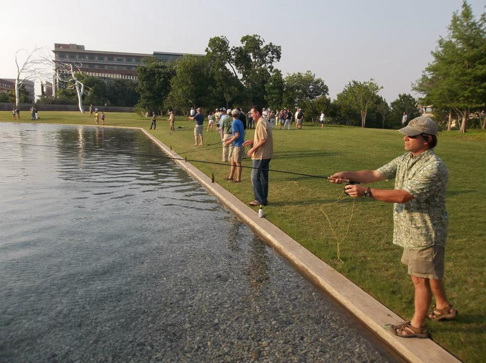 The Modern Art Museum ~ Fly Fishing Program