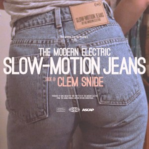 The Modern Electric - Slow-Motion Jeans [Single] (Album Cover)