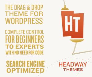 Headway — The Drag & Drop Theme For WordPress