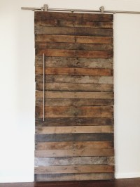Pallet Door & X Pallet Barn Door Created By Reconstruction ...