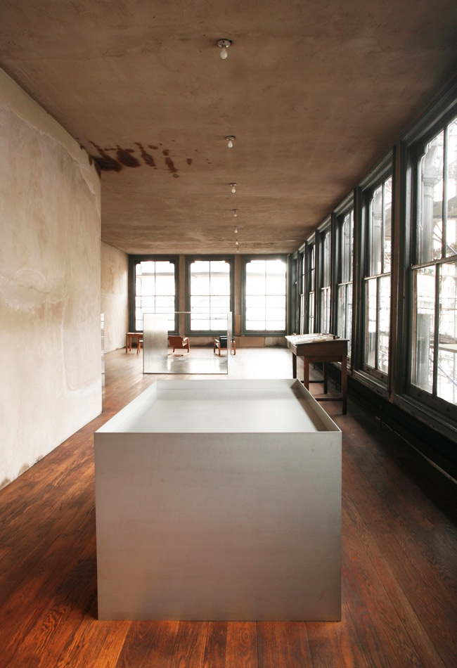 WHAT WERE SEEING Visit artist Donald Judds apartment in New York  Journal  The Modern House
