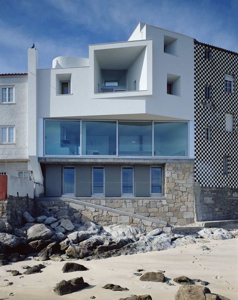 House Of The Day Private House In Corrubedo By David