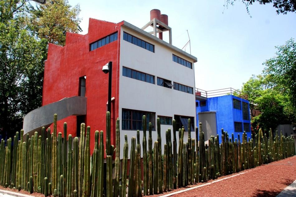 City Mexico Frida Kahlo House