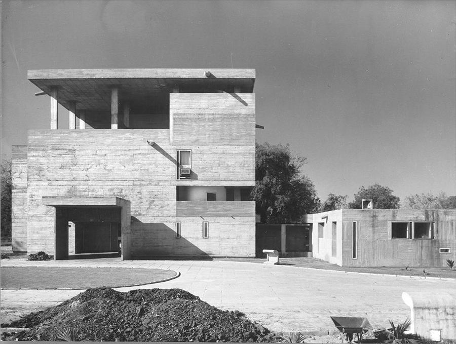 House of the Day Villa Shodhan by Le Corbusier  Journal