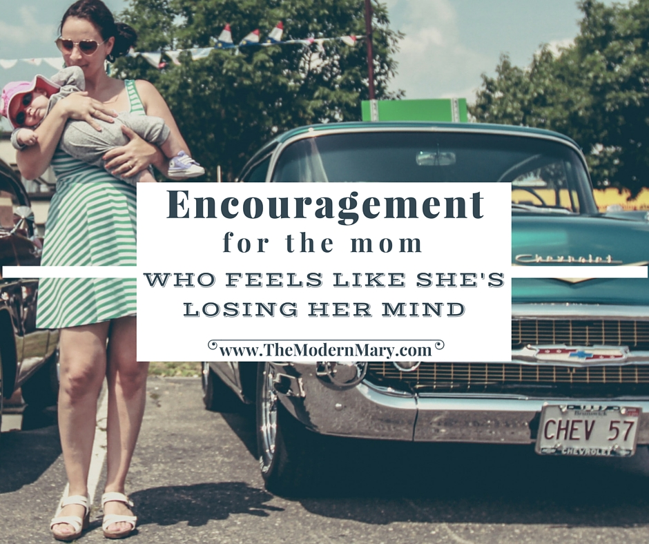 Motherhood is Hard - The Modern Mary