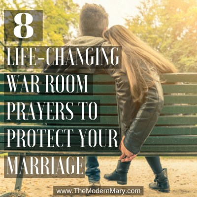 War Room Prayers to Pray Over Your Marriage