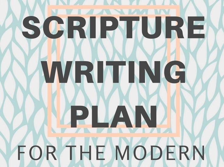 Scripture writing plan for the modern Proverbs 31 woman.