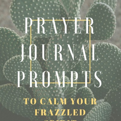 31 Prayer Journal Prompts to Calm Your Frazzled Spirit
