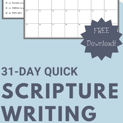 Scripture Writing Made Simple