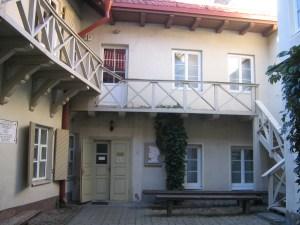 Adam Mickiewicz' house in Vilnius
