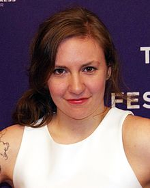 This is Lena Dunham.  I don't know who she is but she is on a lot of lists.