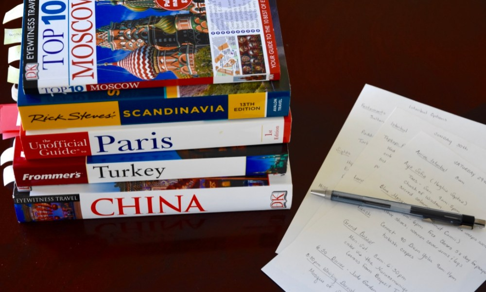Notes from Home: Travel Planning 101