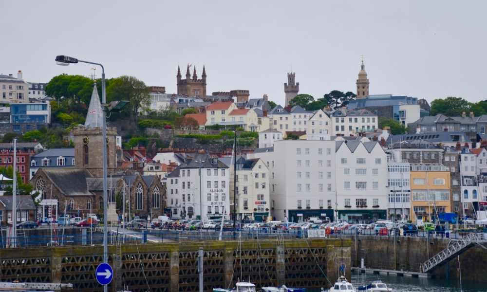 Saint Peter Port: A Moody Day on the Island of Guernsey