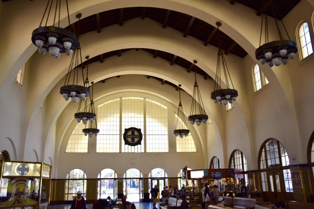santa fe depot interior